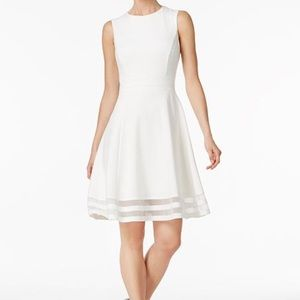 Calvin Klein White Dress